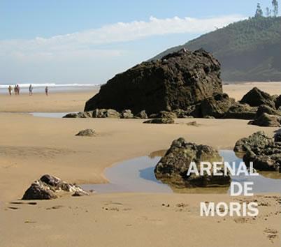 Camping Arenal de Moris, Playa